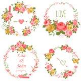 Guirnalda de las rosas libre illustration
