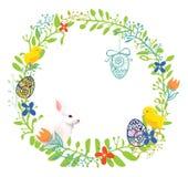 Guirnalda de Pascua Ilustración del Vector