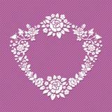 Guirnalda de rosas Foto de archivo
