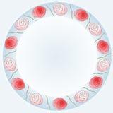 Guirnalda de rosas Imagen de archivo