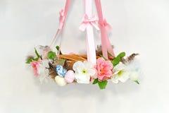 Guirnalda decorativa de Pascua imagen de archivo