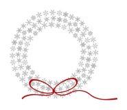 Guirnalda del copo de nieve Foto de archivo libre de regalías