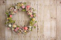 Guirnalda del huevo de Pascua Foto de archivo libre de regalías