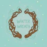 Guirnalda del invierno Imagenes de archivo