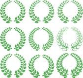 Guirnalda del laurel ilustración del vector