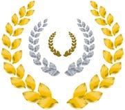 Guirnalda del laurel Imagen de archivo libre de regalías