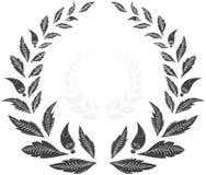 Guirnalda del laurel concesión Stock de ilustración