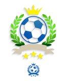 Guirnalda del laurel del fútbol libre illustration