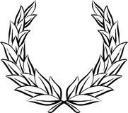 Guirnalda del laurel (vector) libre illustration