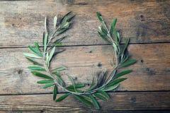 Guirnalda del olivo imágenes de archivo libres de regalías
