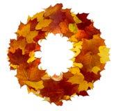 Guirnalda del otoño fotografía de archivo