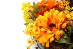 Guirnalda del otoño Imagen de archivo libre de regalías