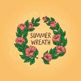 Guirnalda del verano Fotos de archivo libres de regalías