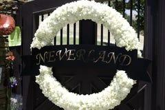 Guirnalda en el rancho de Neverland Foto de archivo