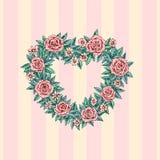 Guirnalda floral Imagen de archivo libre de regalías