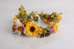 Guirnalda floral imágenes de archivo libres de regalías