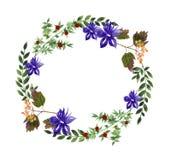 Guirnalda floral Fotografía de archivo