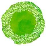 Guirnalda floral colorida Fotos de archivo libres de regalías