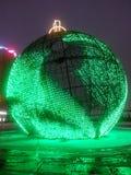 guirnalda grande de la bola Fotos de archivo
