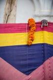 Guirnalda hindú de la flor Imagenes de archivo
