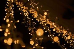 Guirnalda ligera Fotografía de archivo libre de regalías