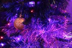 Guirnalda multicolora de las luces Fotografía de archivo