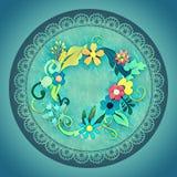 Guirnalda verde Foto de archivo libre de regalías