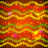 Guirnaldas abstractas del triángulo Foto de archivo