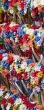 Guirnaldas coloridas fotos de archivo libres de regalías