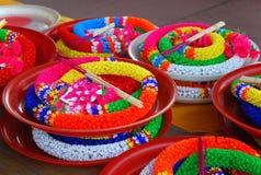 Guirnaldas coloridas Imágenes de archivo libres de regalías