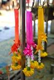 Guirnaldas de la flor, Tailandia Imagen de archivo