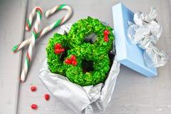Guirnaldas de la Navidad Foto de archivo libre de regalías