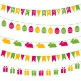 Guirnaldas de Pascua Fotografía de archivo libre de regalías