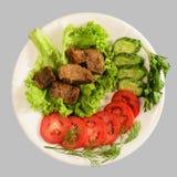 Guisado con las verduras Imagen de archivo libre de regalías