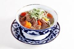 Guisado da carne com Uzbeque dos tomates das pimentas dos vegetais imagens de stock royalty free