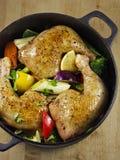 Guisado da galinha Imagem de Stock