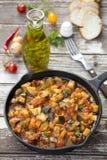 Guisado do vegetal do vegetariano Fotos de Stock Royalty Free