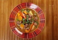 Guisado irlandês com carne macia do cordeiro Fotografia de Stock Royalty Free