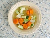 Guisado vegetal com raiz de aipo Imagem de Stock