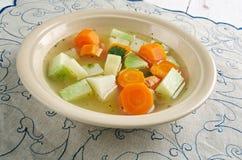 Guisado vegetal com raiz de aipo Fotografia de Stock Royalty Free