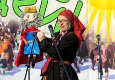 Guisante del zar en una escena Foto de archivo