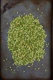 Guisantes partidos del verde Imagen de archivo