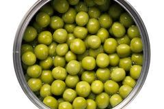 Guisantes verdes imagen de archivo