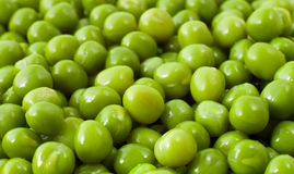 Guisantes verdes Fotos de archivo