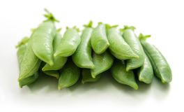 Guisantes verdes Imagen de archivo libre de regalías