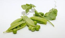 Guisantes verdes Imagenes de archivo