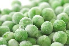 Guisantes verdes congelados Imagen de archivo libre de regalías