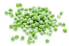 Guisantes verdes congelados Foto de archivo libre de regalías