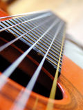 Guitar. �strings Royalty Free Stock Image