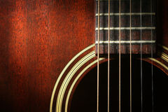 Guitar 1 Royalty Free Stock Photography